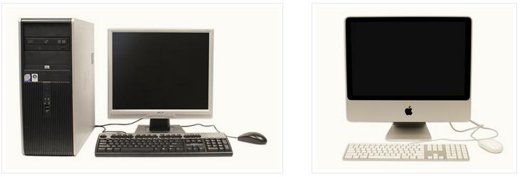 дербес компьютер және мак