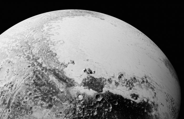Плутон планетасының суреттері