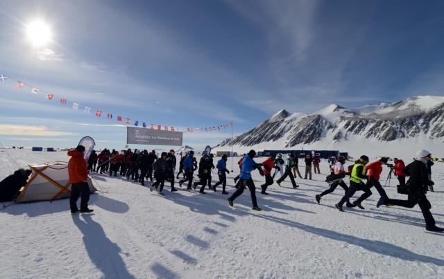 Антарктидада марафондар
