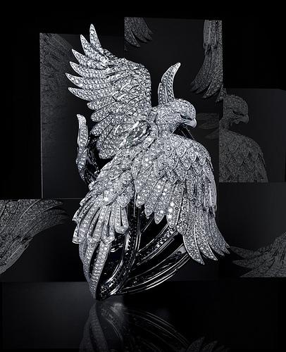 Cartier Secret Watch with Phoenix