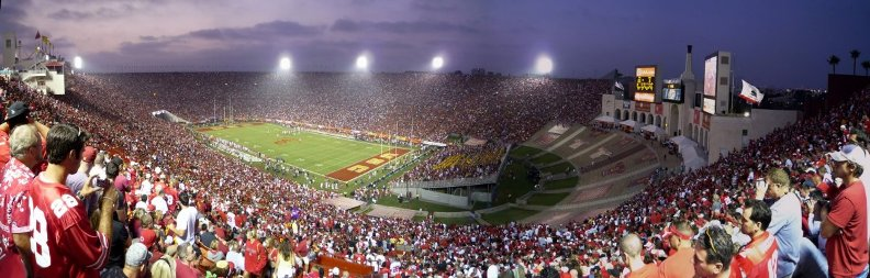 Лос-Анджелес Мемориал Колизей / Los Angeles Memorial Coliseum